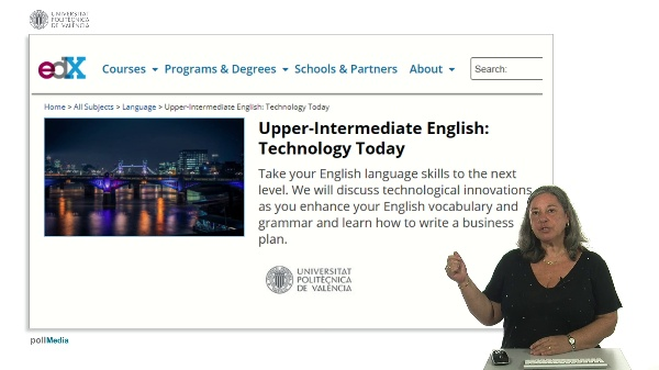 Upper-Intermediate English: Technology Today. MOOC Introduction