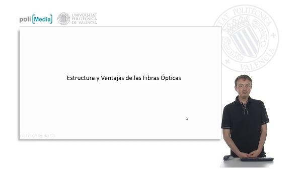 Estructura y Ventajas de las Fibras Ópticas