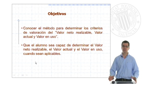 Valor neto realizable, Valor actual, Valor en uso