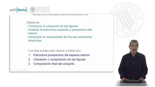 Composición y estructura espacial en la práctica.