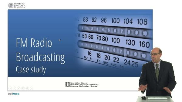 FM Radio Broadcasting. Case study (II)