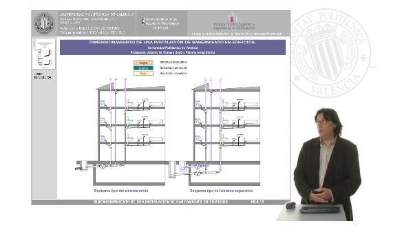 Hidráulica. DB HS-5. Dimensionamiento de una instalación en edificios