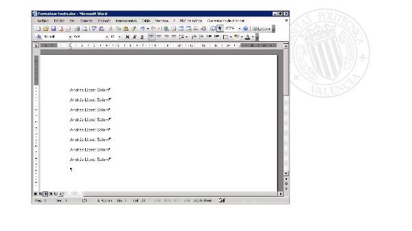 Ejercicio 1 - Formatear Texto
