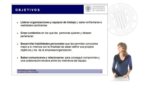 Presentación del Curso Habilidades para el Liderazgo