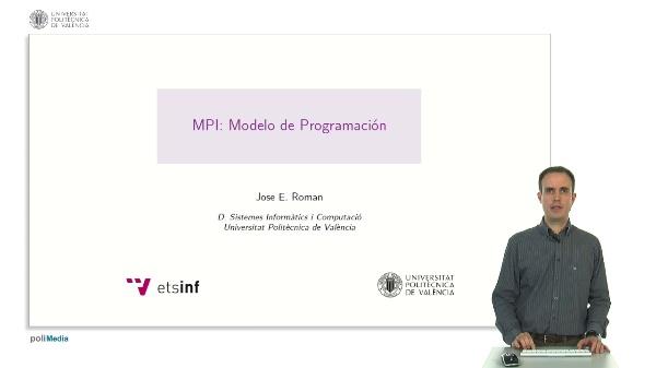 MPI: Modelos de Programación.