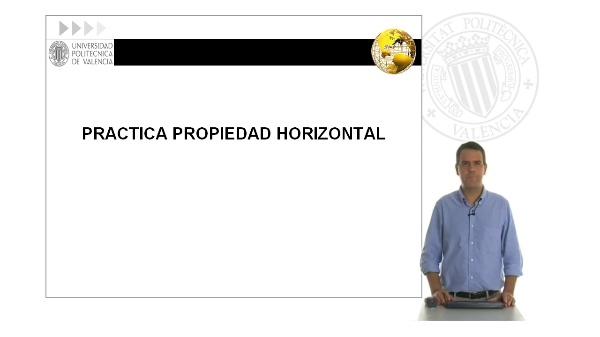 Práctica propiedad horizontal