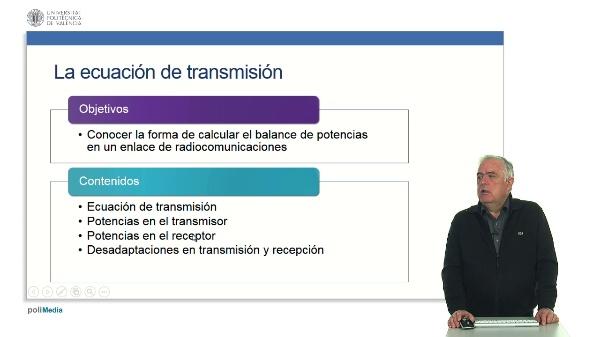 Ecuación de transmisión