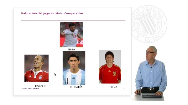 Valoración del futbolista Juan Mata