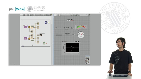 Implementació d'un sistema de control a un helicòpter de quatre rotors