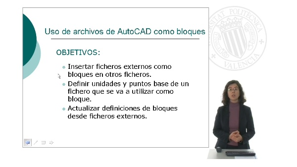 Uso de archivos de AutoCAD como bloques