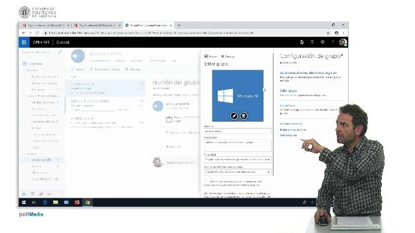 Editar un grupo de Office 365