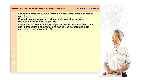 03-V BINOMIAL-04 -Variable aleatoria Binomial