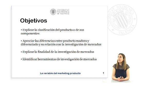 La variable del marketing producto