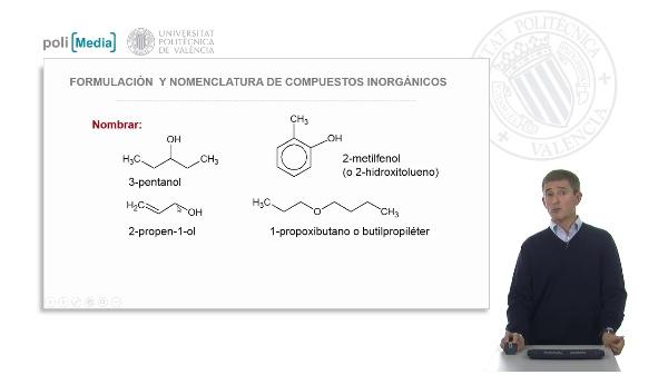 Funciones oxigenadas: alcoholes, fenoles y éteres. Ejercicio práctico-soluciones