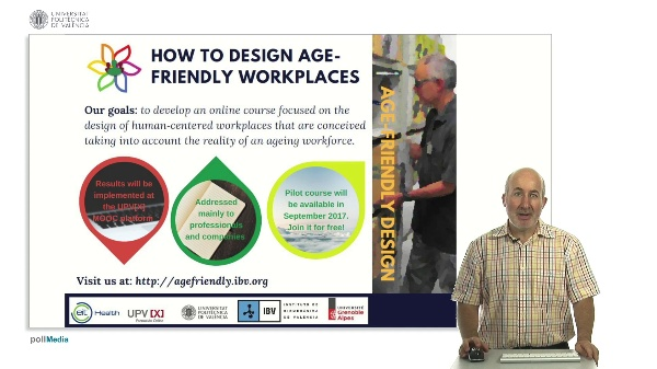 How to Design Age - Friendly Workplaces. Course teaser
