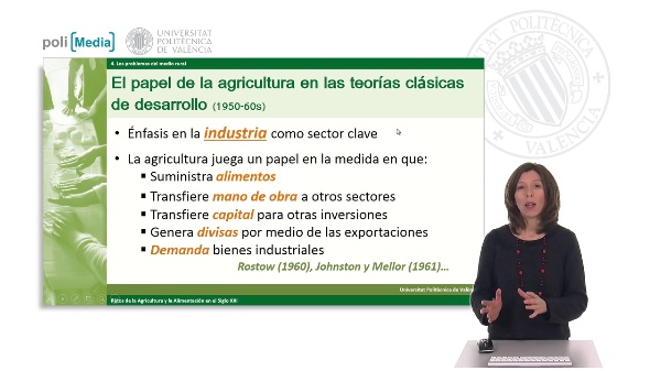 El papel de la agricultura en el desarrollo