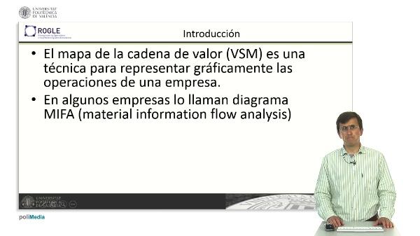 Flujo de materiales en el mapa de la cadena de valor (VSM)