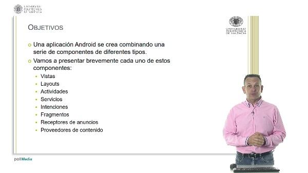 Componentes de una aplicación en Android