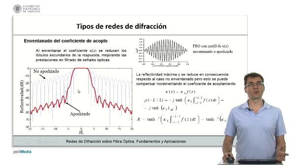Distintos tipos de redes de difraccion (II)