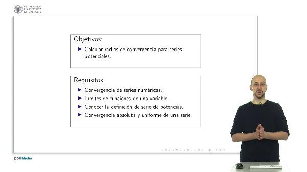 Radios de convergencia. Ejemplos II.