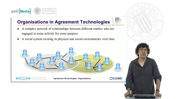 Organisations in Agreement Technologies