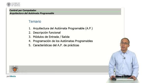 Arquitectura del Autómata Programable: Introducción y objetivos
