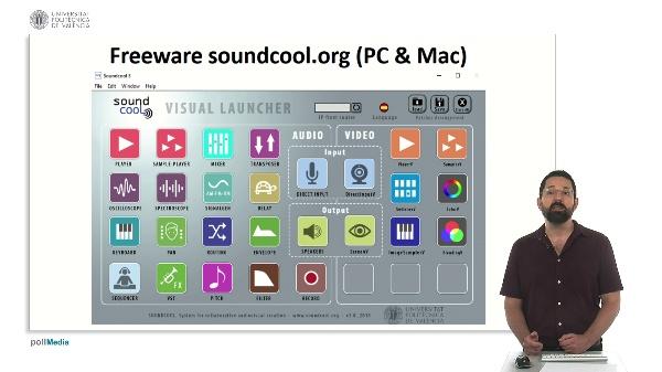 Módulos de vídeo y propuestas creativas con Soundcool