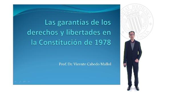 Las garantías de los derechos y libertades en la constitución de 1978