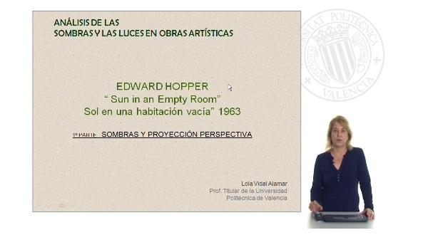 Parte 2: Análisis de las luces y las sombras en obras artísticas: E. Hopper