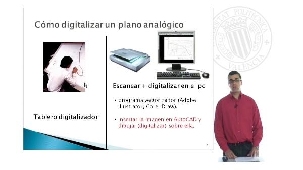 Digitalización vectorial con AutoCAD