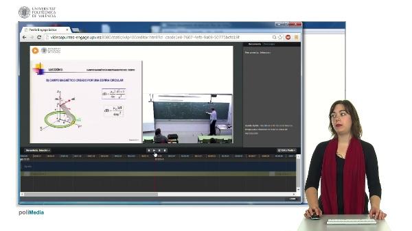 Interfaz básica del editor