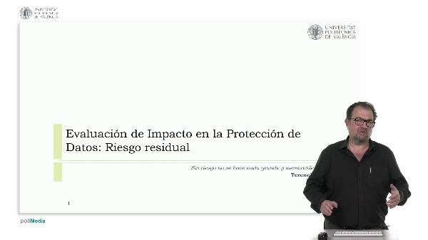 Evaluación de impacto en la protección de datos: riesgo residual