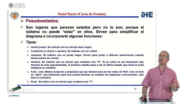 Curso de ingeniería del software para sistemas embebidos. Modulo 12. Parte 3. Statechart