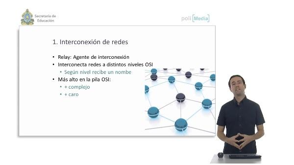 Dispositivos específicos de red. Interconexión de redes