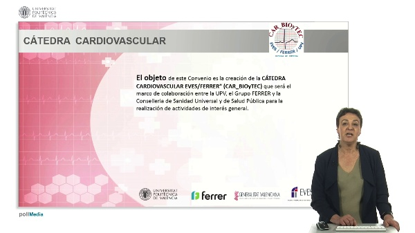 Presentación cursos Cátedra - Directora EVES - Dra. María Luisa Roselló Pérez