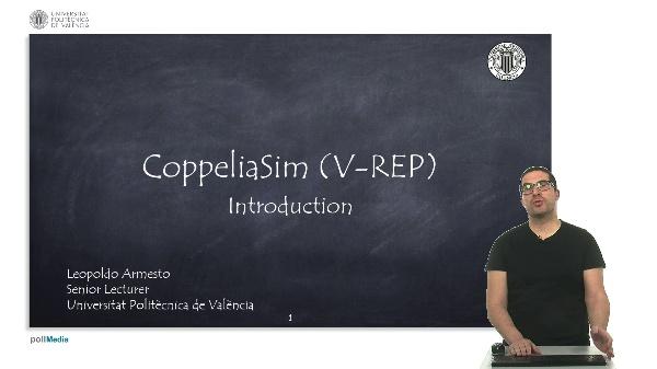 CoppeliaSim (V-REP): Introduction