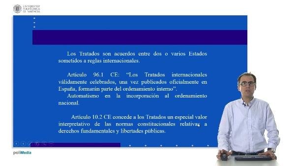 El control de constitucionalidad de los tratados internacionales