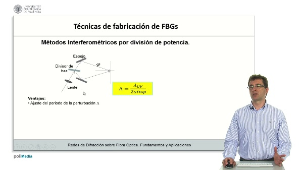 Tecnicas de fabricacion de FBGs (II)