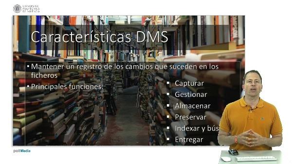 Sistema de gestión de documentos (DMS)