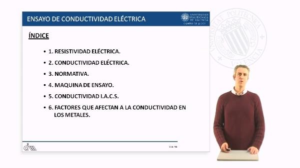 Ensayo de conductividad eléctrica