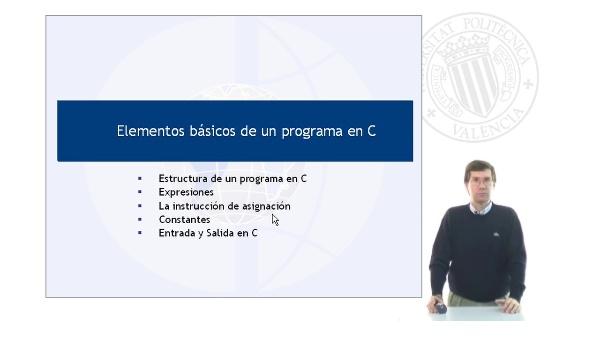 Elementos básicos de un programa en C