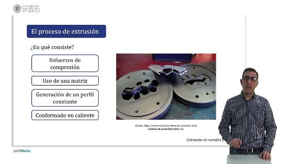 Extrusión de metales y aleaciones