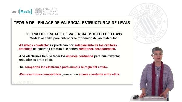 Teoría del enlace de valencia. Estructuras de Lewis