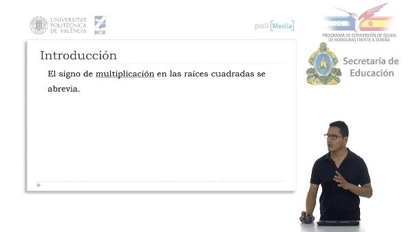 Multiplicación y división de raices cuadradas