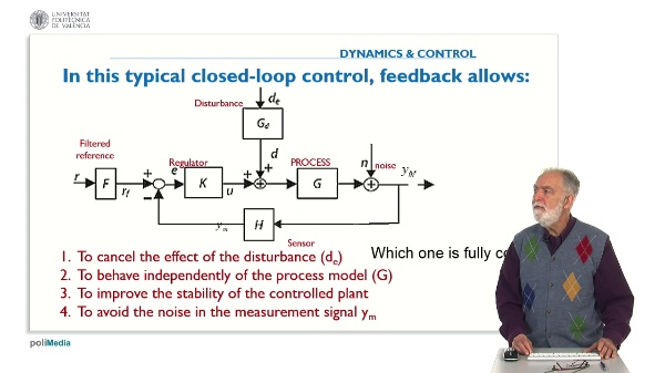 Propierties of Controlled Systems. Answer 3