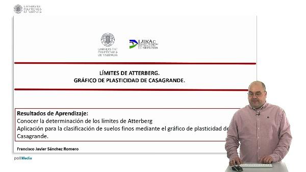 Límites de Atterberg: limite líquido y límite plástico gráfico de plasticidad de Casagrande