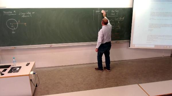 Física 1. Lección 6. Problema 9