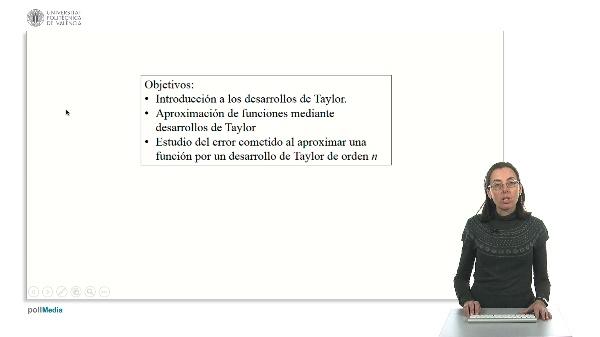 Desarrollo de una función en polinomio de Taylor (McLaurin)
