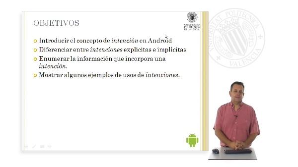 Las intenciones en Android