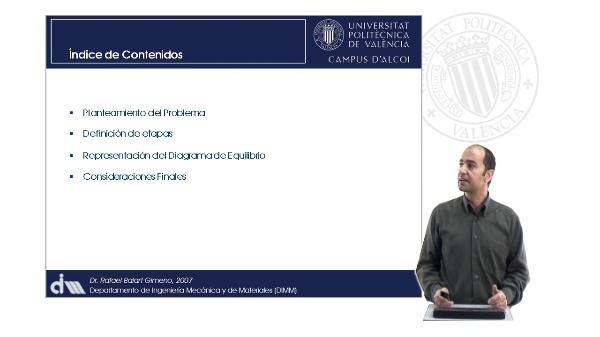 Representación de Diagramas de Equilibrio a partir de las Transformaciones. Eutectoide